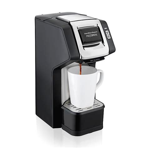 Haven't had a single issue.coffee always hot.can't ask for any better! Hamilton Beach® FlexBrew® Single-Serve Plus Coffee Maker ...