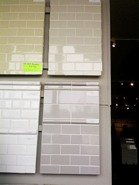 muted color subway tile as we it