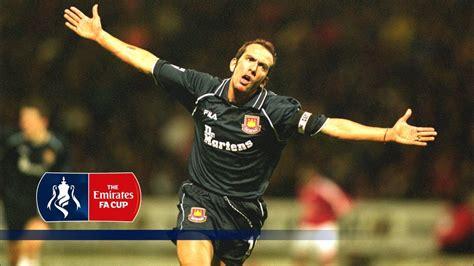 paolo  canios classic goal  man utd  fa cup