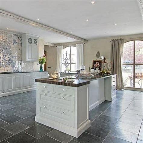 images  slate kitchen floor  pinterest