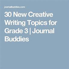 New Creative Writing Topics For Grade 3!  Esl  Pinterest  Creative Writing Topics, Writing