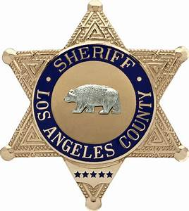 File:Badge of the Sheriff of Los Angeles County.png ...