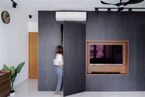 10 practical TV feature wall designs in Singapore that ...