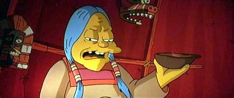 indianzcom   hoop  simpsons  indian country