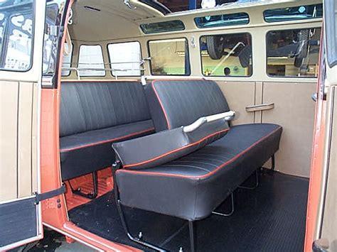 Original Style Volkswagen Barndoor Bus Interior And Upholstery