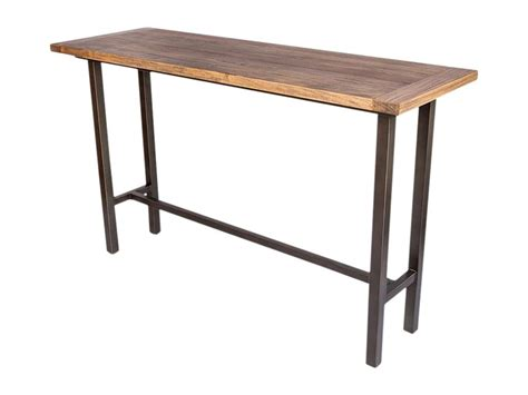 industrial high top table industrial bar table wolcott industrial loft iron