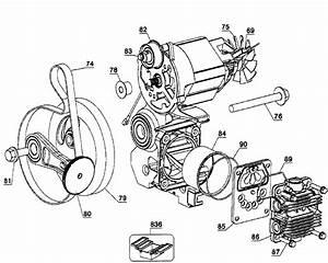 Dewalt Model D55146 Type 5 Air Compressor Genuine Parts