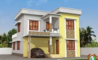 Home Design Gallery Sunnyvale Two Floor Kerala Style House Plan With 3 Bedrooms Kerala Home Design