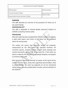 gallery of audit findings letter With audit follow up template