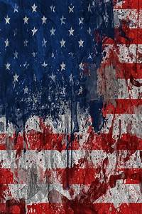 Tattered American Flag Computer Wallpaper | Black And ...
