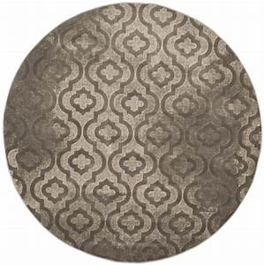Teppich Rund Kurzflor : teppich rund webteppich kurzflor wohnzimmer pacific evergreen braun beige 155 cm ~ Frokenaadalensverden.com Haus und Dekorationen