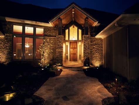 outdoor entrance lighting outdoor entrance lights light your landscape hgtv