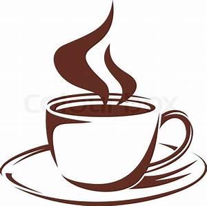 Kaffeetasse Zum Ausmalen : dampfende tasse voll r stkaffee vektorgrafik colourbox ~ Orissabook.com Haus und Dekorationen