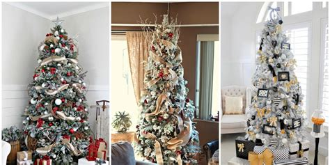 put ribbon   christmas tree ideas  ribbon