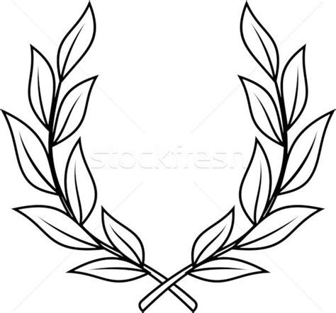 Httpwwwclipartbestcomclipartytkegnec Laurel Leaf Crown Template Things I Find Amazing Rhpinterestcouk Iron On Transfer Wreath With Crown Graphics Fairy And Rhpinterestcom Jpg