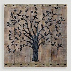 World market tree of life wall decor wood clipgoo