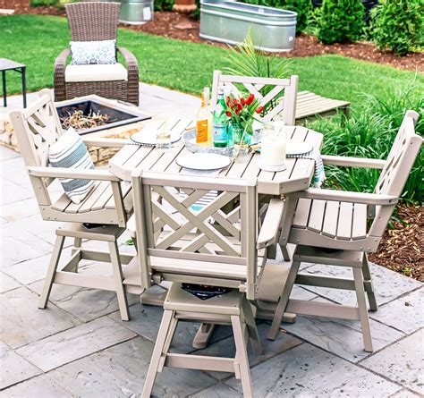 Yard Furniture by Maintenance Free Outdoor Furniture So Chic