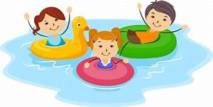 Kids Swimming - ClipArt Best