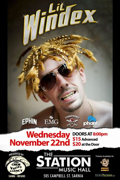 lil windex special guests    station  hall