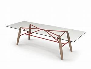 Dessus De Table En Verre : grande table avec dessus de verre collection connection ~ Dailycaller-alerts.com Idées de Décoration