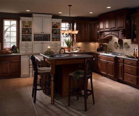kitchen accent furniture cherry wood kitchen cabinets with laminate accents
