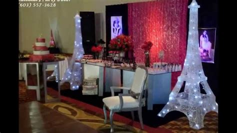 table decorations centerpieces larissa 15 birthday theme