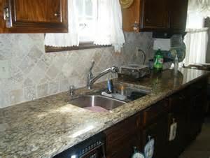 kitchen backsplash ideas with santa cecilia granite santa cecilia granite tile backsplash home design ideas