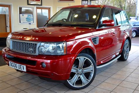 Used Rimini Red Land Rover Range Rover Sport For Sale