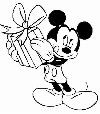 Mickey Mouse Coloring Pages Minnie Christmas Printable