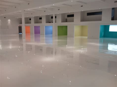 epoxy flooring white make best choice with epoxy floorings coatings conorstone designs