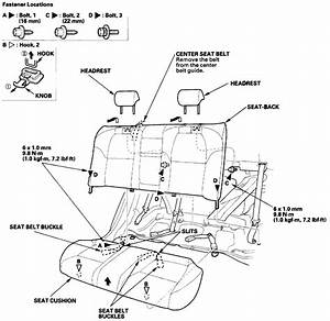 Need Picture Diagram Removing Rear Seat  Bottom  U0026 Back  Have Wiring Harness Problem