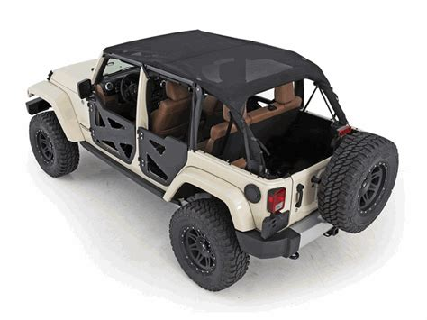 mesh doors all things jeep mesh extended top for jeep wrangler jk 4 Jeep