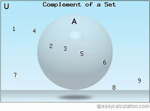 How To Find Complement Of Sets