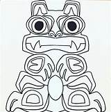 Totem Pole Animals Clipart Zoo Coloring Native Animal Faces Drawing Poles Getdrawings Clipground sketch template