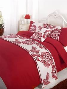 Bettdecke Auf Englisch : stepp bettdecke bettw sche bed in a bag rot einzelbett ~ Watch28wear.com Haus und Dekorationen