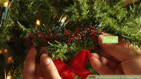 decorate  christmas tree  pictures wikihow