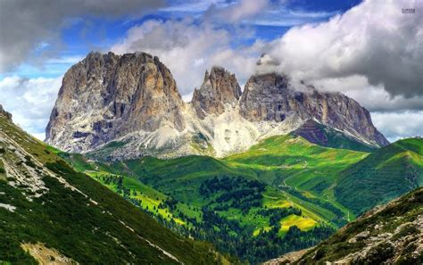 Mighty Dolomites Europe Italy Wallpapers Mighty