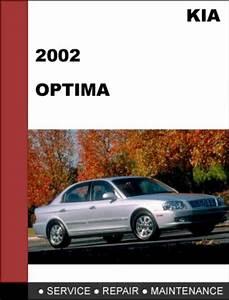Kia Optima 2002 Factory Service Repair Manual Download