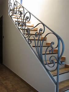 Rambarde Fer Forgé : cuisine attachante rampes escalier moderne rampe escalier ~ Dallasstarsshop.com Idées de Décoration