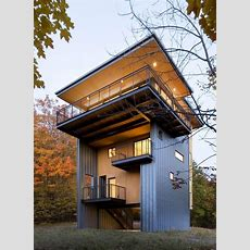 4storey Tall House Reaches Above The Forest To See The