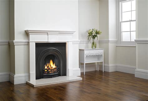 fireplace mantel decorative arched insert fireplaces stovax traditional