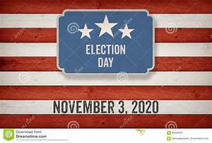 November 2020 Election Date, US American Flag Concept ...