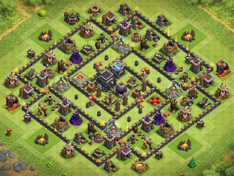 12 new farming layouts th9 for clash of top 12 best th9 farming base 2017 new anti 12 n