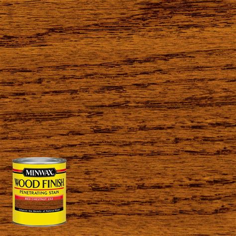 home depot wood doors interior 8 oz wood finish chestnut based interior stain 4
