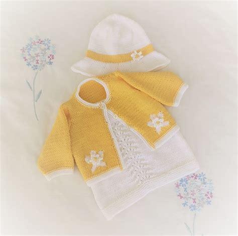 Baby Lace Dress and Shrug Knitting Pattern, Knitting ...