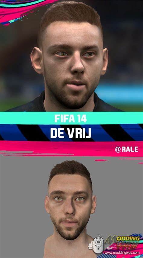 Stefan de Vrij by RALE - FIFA 14 at ModdingWay