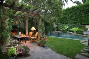 back garden landscaping backyard garden ideas architectural design