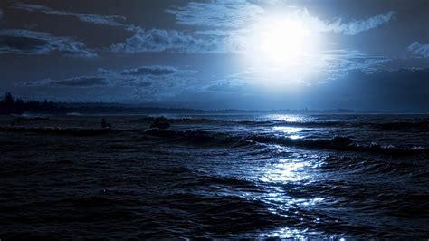 night ocean wallpapers  wallpaperplay