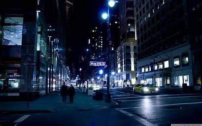 Night Street Wide