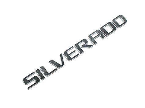 New Emblem Silverado For Cars Trucks Silverado Badge